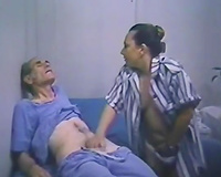 Awesome sex with perverted and lascivious blond hottie in hospital