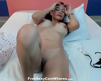 This flirtatious Latina cougar with large boobs is an absolute treat to see