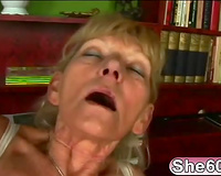 This granny loves it deeper solely when that babe is on top