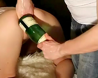 Watch me and my GF practising fisting in terrific homemade episode