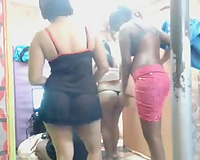 Lovely Indian call cuties chatting and posing on livecam