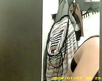 Hidden voyeur webcam movie in the dressing room for ladies