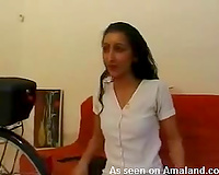 My pleasant exotic maid assents to blow my wang on livecam