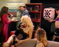 Whorish and perverted blonde white wife still can give a fine blowjobs