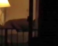 Check out quite precious voyeur sex tape of dilettante pair having steamy sex
