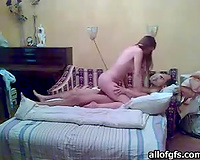 Skinny honey doesn't mind dilettante BDSM games with her chap