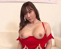 I like to watch my nice-looking Japanese GF wearing a hot underware