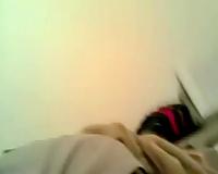 Hot dark brown bestfriend munches my bawdy cleft on POV clip