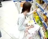 Delicious and breasty random youthful hottie filmed upskirt