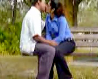 Beautiful dilettante Indian office girl pleases her hubby