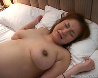 Dude bangs bosomy preggy Japanese girlfriend