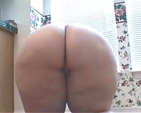 Submissive white Married slut cleans abode out of pants