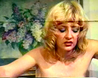 Vintage lesbo porn compilation with 2 brunettes and 2 blondies