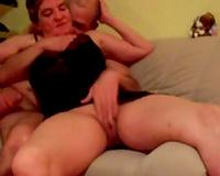 Big bottomed lustful BBC slut lets my ally tickle her mature fur pie