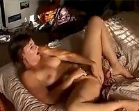 Emotional breasty dark head white wife of mine masturbated eager