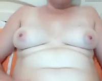 Mature woman rubbing and toying her snatch in dilettante episode