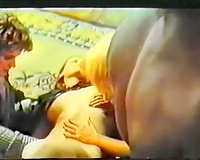 Vintage porn compilation with group and interracial sex