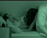 My cute hotwife makes out with me and gives me irrumation in hidden web camera vid