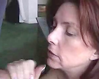 Student's hawt redhead mommy gives me head for a wonderful marks