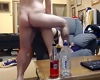 My strong horn-mad boyfriend can't live without fucking my cunt hardcore in doggy pose