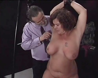 Big natural excited doxy takes some pleasurable torment