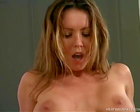 Bosomy beauty enjoys cunni and receives ass-fucked in the bedroom