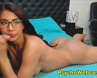 Big Ass Latina Teen with Tattoos Live Sex
