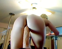 Whorable dilettante large racked blond cheating wife was topping giant sextoy
