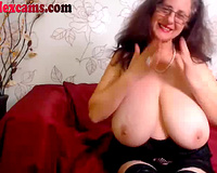 This granny can go from old shy cheating wife to wicked whore in no time flat