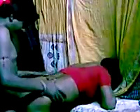 Busty Mumbai non-professional brunette hair wifey acquires nailed from behind