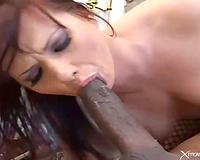 Katja Kassin interracial sex with a a-hole fuck