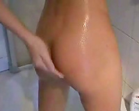 Bathroom Fuck And Facial
