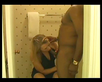 Fine golden-haired cuckold interracial woman I love breeding with dark
