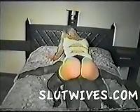 Blonde BBC slut in a hurry
