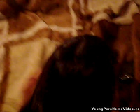 Beautiful brunette enjoys fantastic rear banging in the bedroom