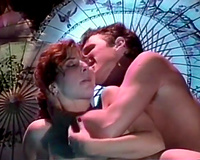 Vintage porn compilation with breasty redhead honey and shy BBC slut