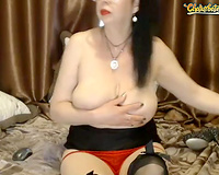 This wicked cheating wife is a chronic masturbator and this babe is jack good