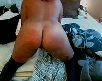 Red haired tattooed dirt worked with her sex toy on cam for me