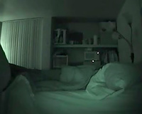 Night vision camera movie scene of sex with my college girlfriend