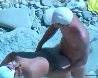 Submissive non-professional hawt white white bitch nailed on the beach
