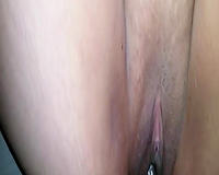 Emotional Latina mother I'd like to fuck with large soaked a-hole was willing for BBC penetration