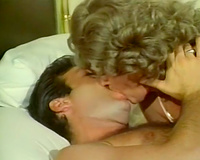 Just a vintage milfie sucking and fucking her dude