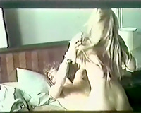 Adorable and wild brunette hair bitch blowingand riding on her paramour