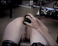 Awesome solo with me toying my rectal hole with a bottle