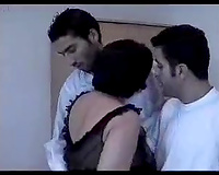 Double teaming my neighbor's big beautiful woman Turkish black cock sluts with my ally