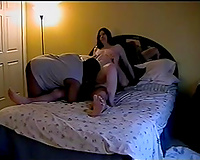 Whorable pallid amateur wife and her muff licking time with some buddies