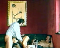 Chubby and lustful sweetheart loved that double penetration