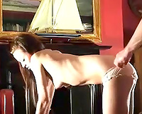 Tempting chick with petite titties can't live without doggy style position