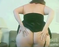 Jaw dropping big beautiful woman cheating wife displays her monster wazoo for me