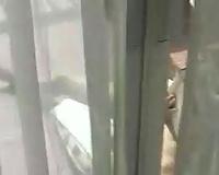 My black cock sluts sunbathing on balcony